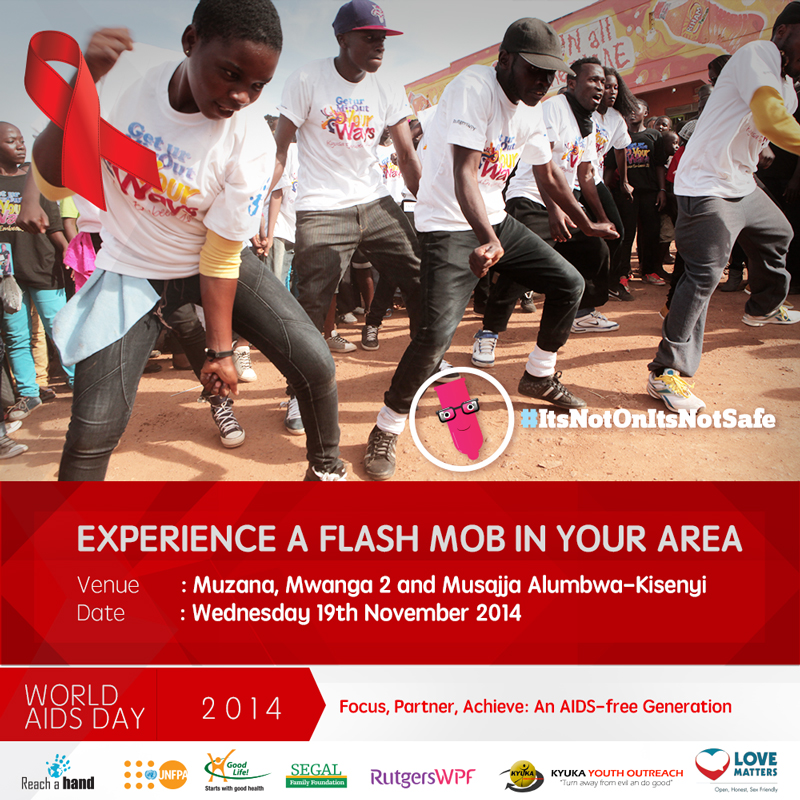 RAHU hosts Flash Mob Activations in Kisenyi