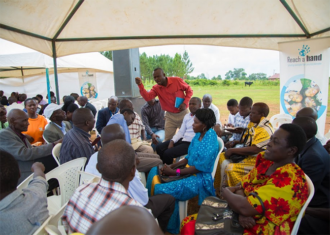 Wrapping up #BetterLife4Girls community dialogues in Eastern Uganda.