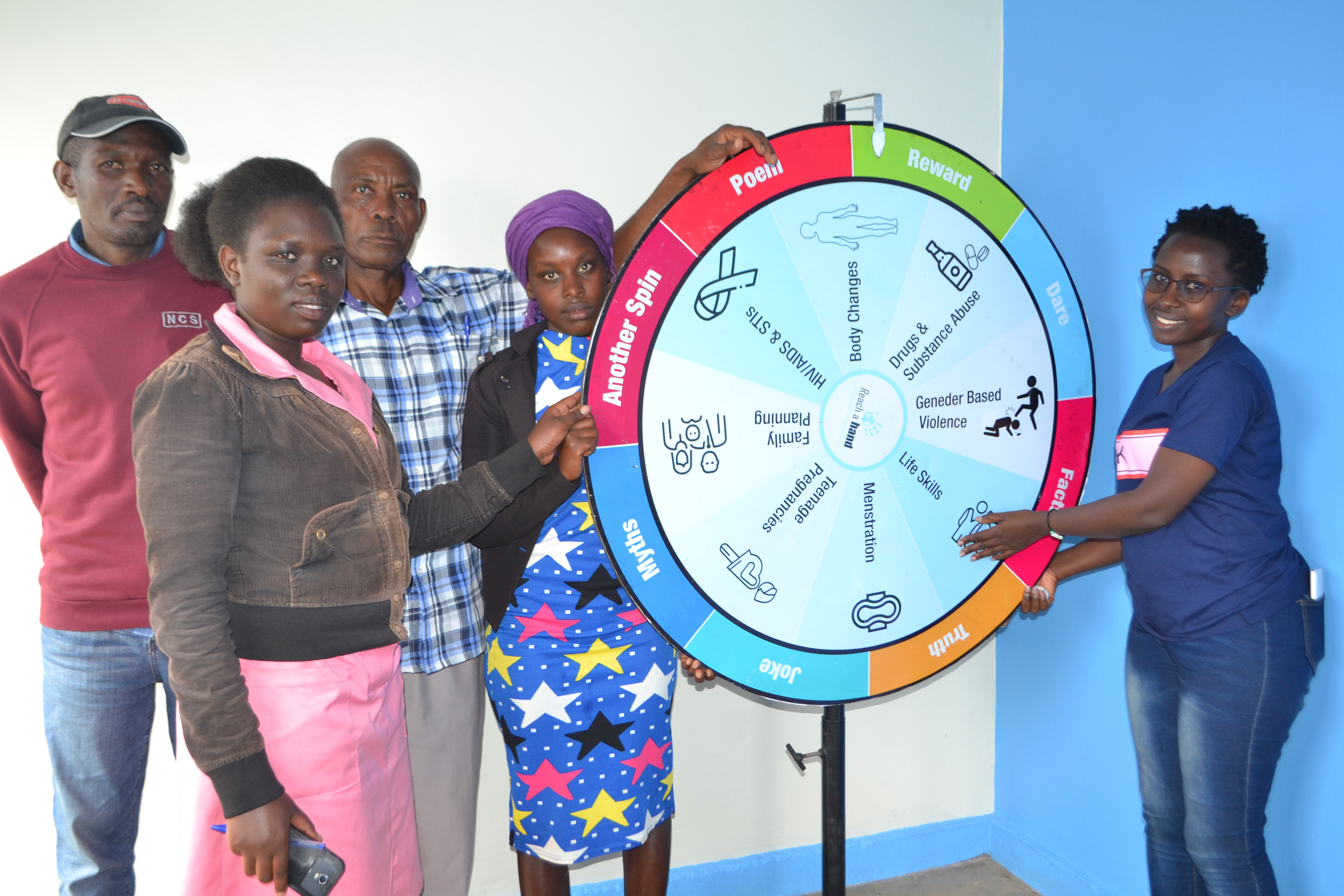 """""""Give us some space"""": How young people in Uganda are using youth empowerment centres to freely talk about their challenges"""