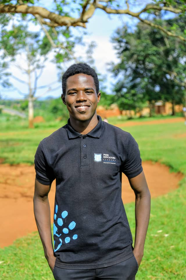 ALL EYES ON:  James Ocen (Peer educator and Young Leader)