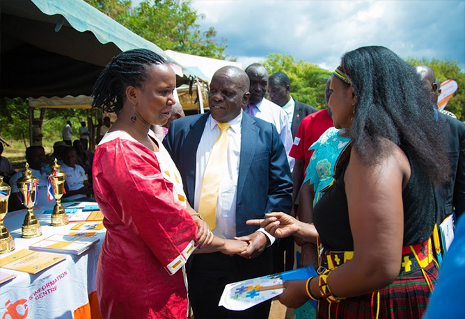 Delivering as one to kick HIV/AIDS out of Karamoja