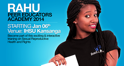 RAHU Peer Educators Academy 2014